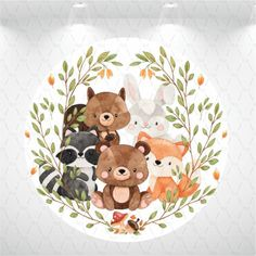 Baby Animal Drawings, Cute Cartoon Drawings, Baby Decor, Kids Decor, Baby Birthday, Boys First Birthday Party Ideas, Baby Animals, Cute Animals, Baby Room Curtains