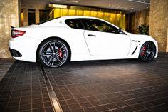 Maserati...my MOST favorite car!