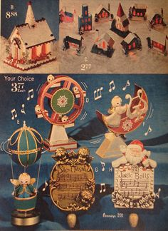 Christmas decorations, 1970 catalog