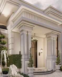 Classic House Exterior, Modern Exterior House Designs, Modern Villa Design, Classic House Design, Dream House Exterior, Modern Architecture House, House Outer Design, House Floor Design, House Outside Design