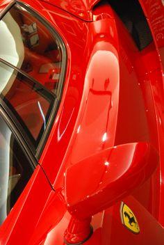 Rosso Ferrari. Maranello.