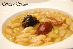 Spanish Bean Stew Recipe on Yummly Spanish Beans, Spanish Dishes, Spanish Food, Spanish Recipes, Mexican Rice Recipes, Bean Stew, Fava Beans, Food Stamps, Great Appetizers