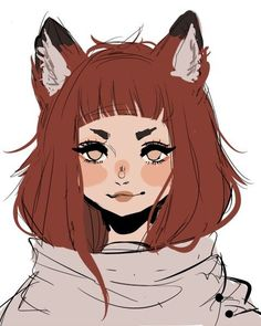 New hair art reference character design 26 ideas Art And Illustration, Design Illustrations, Art Anime, Anime Kunst, Anime Neko, Manga Anime, Character Design Girl, Character Design References, Character Design Tutorial