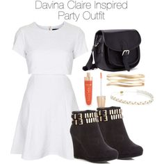 The Originals - Davina Claire Inspired Party Outfit