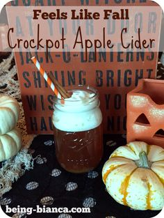 This crockpot apple cider recipe makes your entire house smell so warm and inviting - plus it tastes delish! I love making this on weekend days ... fall bliss!