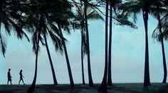 Punaluu Black Sand Beach by Place of Refuge by #GoHawaii. #Hawaii the #bigisland
