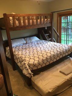 Custom Bunk Beds Texas Bunk Bed Twin Over Queen Rustic
