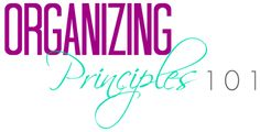 Organizing Principles to Start Practicing Today Organizing, Organization, Love Your Home, Calm, Posts, Blog, Getting Organized, Organisation, Messages