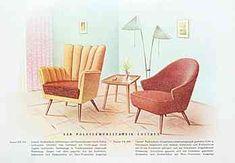 Möbel DDR 50er Jahre