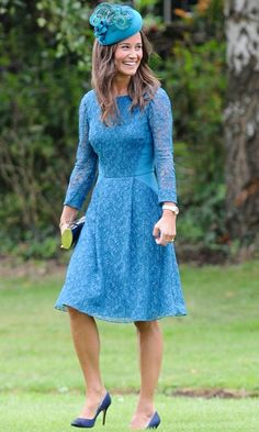 Pippa Middleton at a friend's wedding