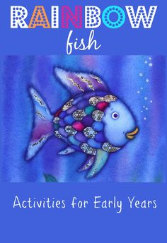 """""""The Rainbow Fish"""" by Pfister. The Rainbow Fish is an award-winning children's book drawn and written by Marcus Pfister, Swiss a. 90s Childhood, Childhood Memories, The Rainbow Fish, Rainbow Fish Costume, Rainbow Baby, Rainbow Fish Activities, Ocean Activities, Rainbow Crafts, Preschool Activities"""