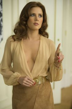 'American Hustle's' Amy Adams: How She Avoided Wardrobe Malfunctions on Set