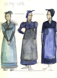 Factory Wear | Les Misérables costume designer Paco Delgado via Stylist Magazine