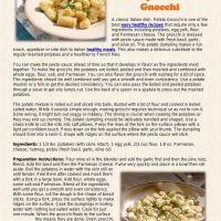 Flipsnack | Easy Healthy Recipe Potato Gnocchi by Catalina Linkava