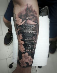 Tattoo pagoda