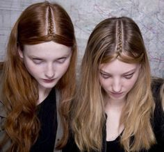 beauty-student:  Parting braids…insanely cool