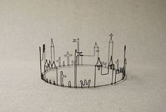 wire works of Masao Seki! so cuuuuute