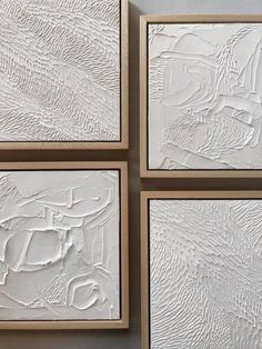 DIY textured canvas - kendra raymer