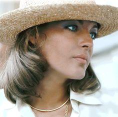 Romy Schneider photographed by Helga Kneidl, 1973