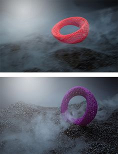 Blueberries: 3D Printed Jewelry | Inspiration Grid | Design Inspiration