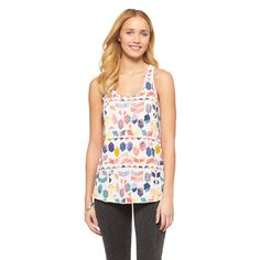 Printed Loose Tank - Mossimo Supply Co.