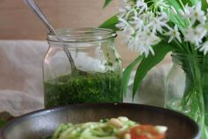 Wild Garlic Pesto: Vegan Recipe