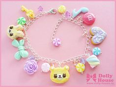 Hey, I found this really awesome Etsy listing at http://www.etsy.com/listing/160279567/cute-bracelet-sweets-mix-by-dolly-house