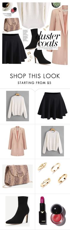 """""""Duster coat"""" by yexyka ❤ liked on Polyvore featuring Miss Selfridge"""