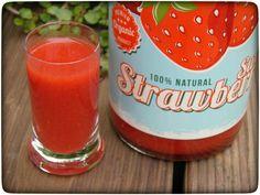 Erdbeerlimes aus dem Thermomix: da lacht das Herz beim nippen