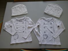 4 chef& suits for the theme restaurant (kitchen and doll& corner) pin made . 4 chef& costumes for the theme restaurant (kitchen and doll& corner) pin made by Lieve L.Cooking in the classroom: with handy step-by-step p. Paper Chef Hats, Chez Jules, Cooking In The Classroom, Chef Costume, Kindergarten Themes, Creative Curriculum, Toddler Learning Activities, Restaurant Kitchen, Vacation Bible School