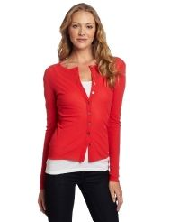 Only Hearts Womens Tulle 2 Ply Cardigan