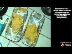 ▶ Turrón de yema tostada con Thermomix - La web de cocina de Mabel - YouTube