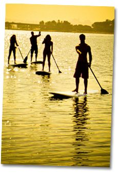 Stand Up Paddling Area Image
