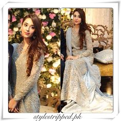 Faraz Manan Bridal Pakistani Bridal Wear, Pakistani Wedding Dresses, Formal Dresses For Weddings, Indian Bridal, Indian Dresses, Formal Outfits, Pakistani Suits, Desi Bride, Desi Wedding