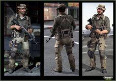 Call of Duty / MW3 | Jake L Rowell - Artist