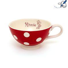Minnie Maus - Frühstückstasse mit Pünktchenmuster
