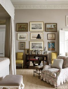 traditional-taupe-living-room-color