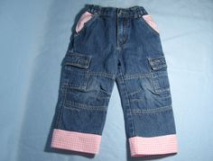 Threading My Way: How to Lengthen Kids' Jeans...