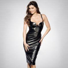d5d88d5d4d032 50% discount Rayon pu spaghetti strap bandage dress bodycon dress drop  shipping Fashion Bags