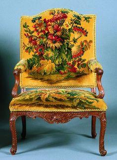 Fauteuil. Nicolas Heurtaut. Paris, 1768. Collection particulière. Photo DR.