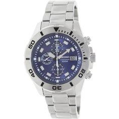 Seiko Men's SNDD97 Silver Stainless-Steel Quartz Watch