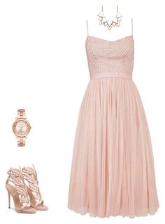 """""""Dinner Party"""" by air1397 on Polyvore featuring Needle & Thread, Full Tilt and Michael Kors"""