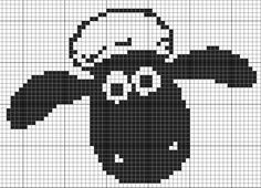 shaun sheep hama perler beads
