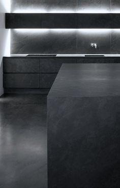 Montauk Black Slate — eggersmann kitchen