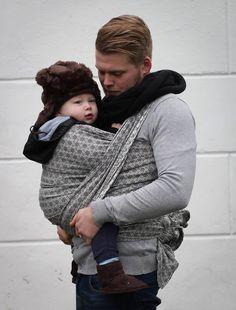 Yaro Basket Black 100% cotton De Baby Wraps, Een Maand Oude Baby, Geweven 74cc212333c