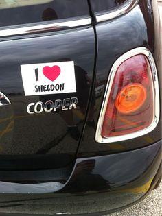 I ♥ Sheldon Cooper.