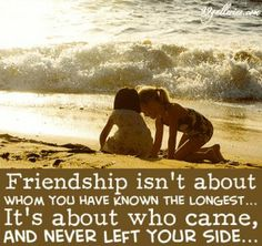 Friendship...