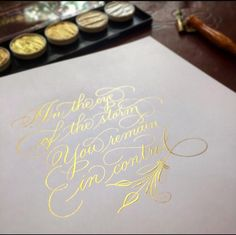Meet Calligrapher Suzanne Cunningham – Surely Simple