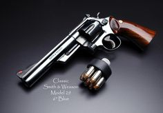 """Classic Smith and Wesson Model 29 6"""" Blue"""