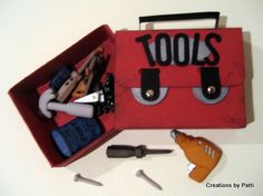 Matchbox: Tool Box..so cute